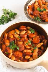 %name Easy White Bean and Cabanossi Sausage Stew – Polish Recipe