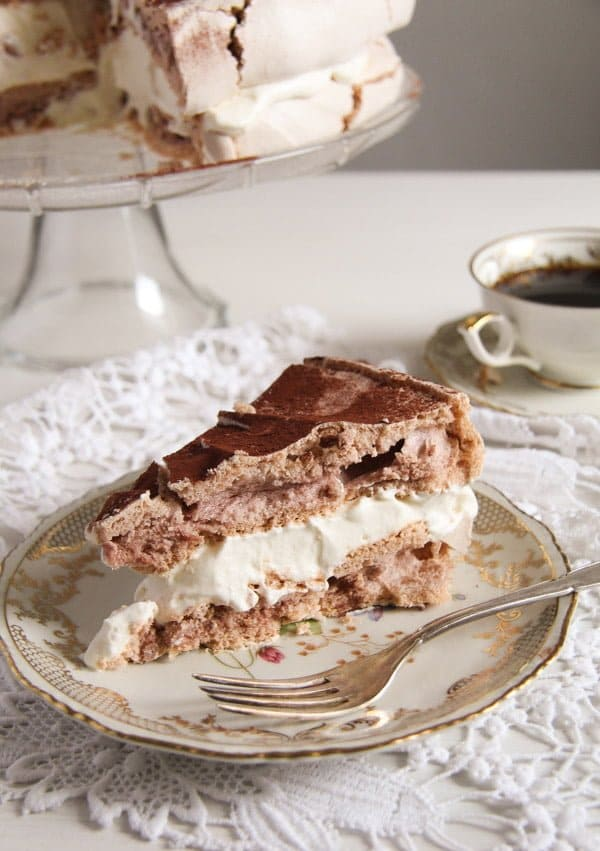 polish bezowy torte 5 Meringue Cake with Mascarpone Filling – Polish Bezowy Torte