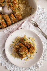 %name Vegan Cabbage Rolls Stuffed with Amaranth and Sweet Potatoes