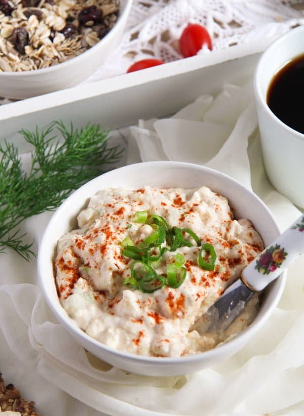 camembert spread 9 The Best Camembert Cream Cheese and Scallion Bread Spread