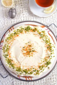 %name Carrot Cake with Almonds and Orange Juice Filling