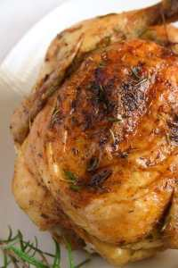 %name How to Roast a Whole Chicken in the Oven