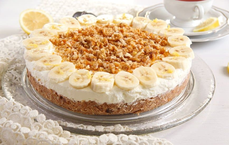 banana pie with cream cheese