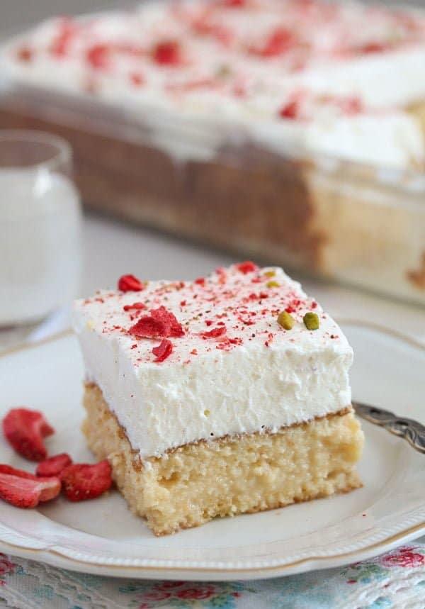 tres leches cake 11 Tres Leches Cake – Mexican Dessert Recipe