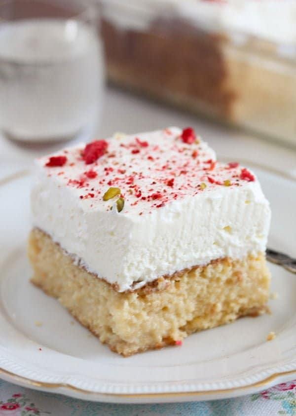 tres leches cake 12 Tres Leches Cake – Mexican Dessert Recipe