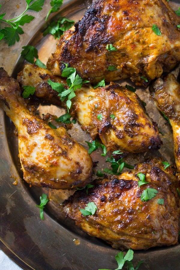 peri peri chicken 3 Peri Peri Chicken – Spicy Oven Baked Chicken – Portuguese Food
