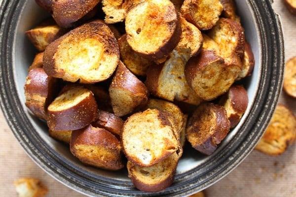 pretzel chips 15 How to Make Pretzel Chips Using Leftover Soft Pretzels