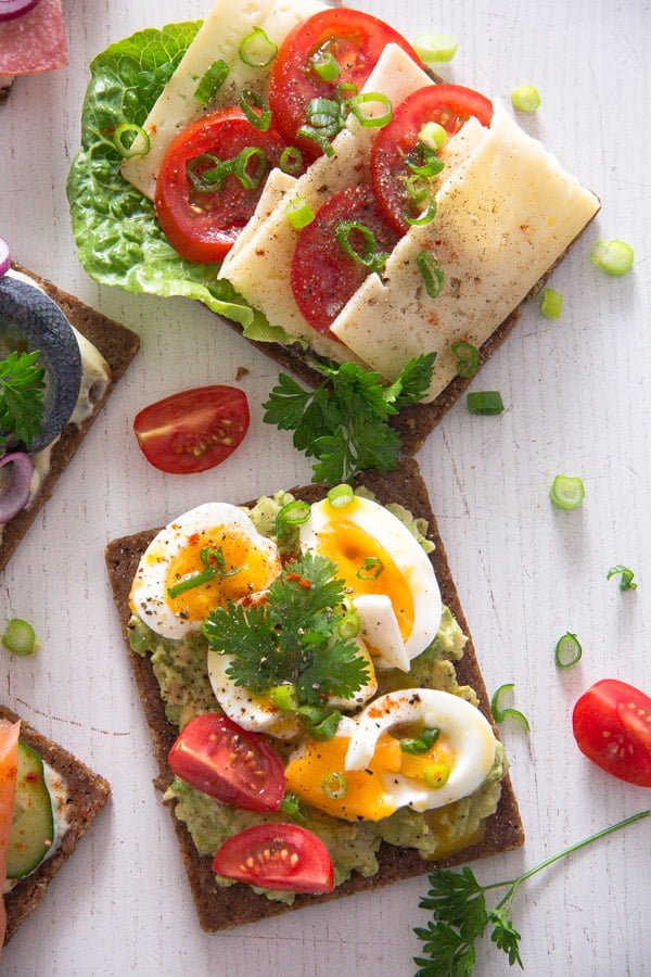 smorrebrod 17 Open Faced Sandwiches – Smørrebrød – Danish Food