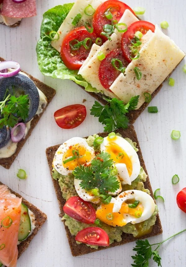 smorrebrod 2 Open Faced Sandwiches – Smørrebrød – Danish Food