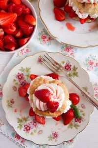 %name Strawberry Shortcake – Classic Recipe with Strawberries and Cream