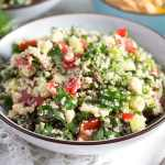 tabouli salad bowl