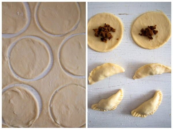 empanadas step by step 2 Empanadas with a Spicy Beef Filling – Argentinian Food