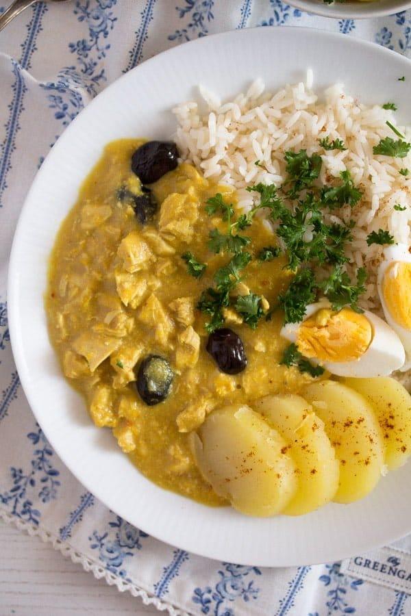 peruvian chicken recipe 2 Peruvian Chicken Recipe – Aji de Gallina   Peruvian Food