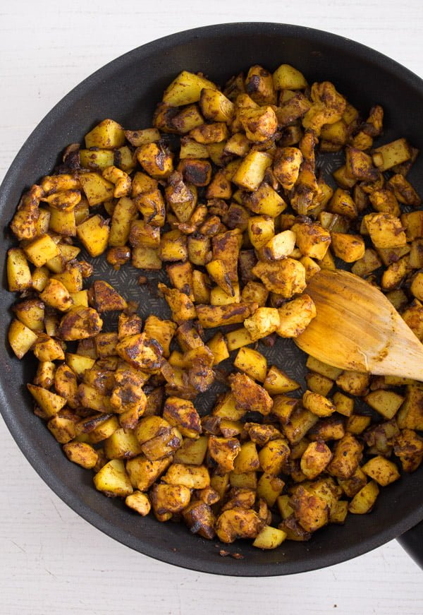 tunisian tajine 1 Tunisian Tajine – Frittata with Chicken and Potatoes – Tunisian Food