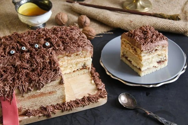 monster book of monsters cake 5 Hagrids Book of Monsters Cake – Harry Potter Recipe