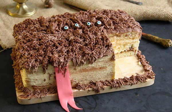 monster book of monsters cake 7 Hagrids Book of Monsters Cake – Harry Potter Recipe