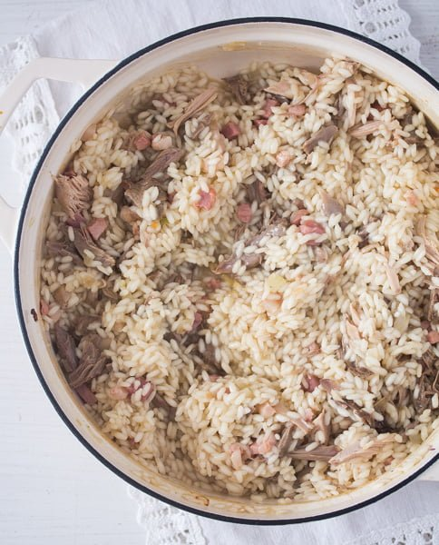 risotto with leftover turkey 4 Leftover Turkey Risotto Recipe – Turkey Leftover Ideas