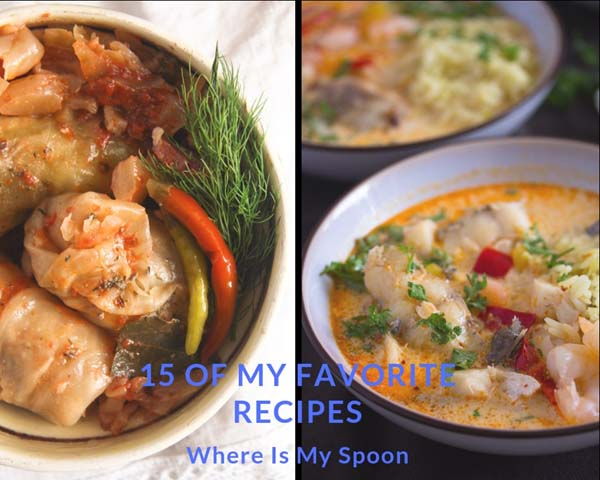 favorite recipes on where is my spoon