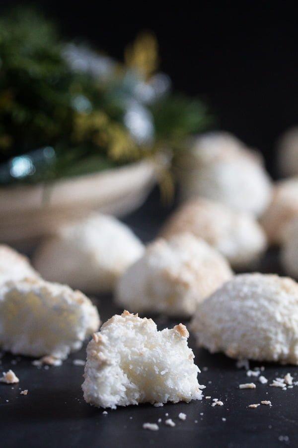 IMG 2497 Coconut Cookies Recipe – Easy Coconut Macaroons