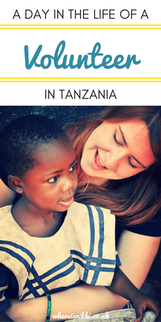 A Day In The Life Of A Volunteer In Tanzania