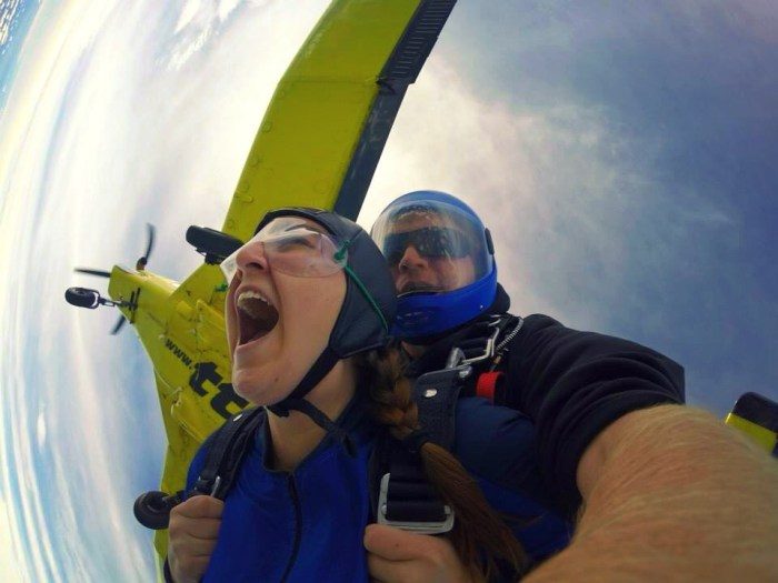 Skydiving in New Zealand - The 10 Stage of Fear