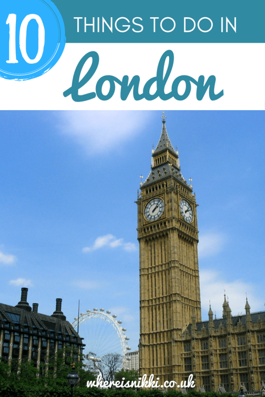 10 Must-See London Attractions (1)