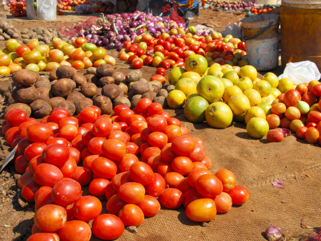 Local Market in Tanzania