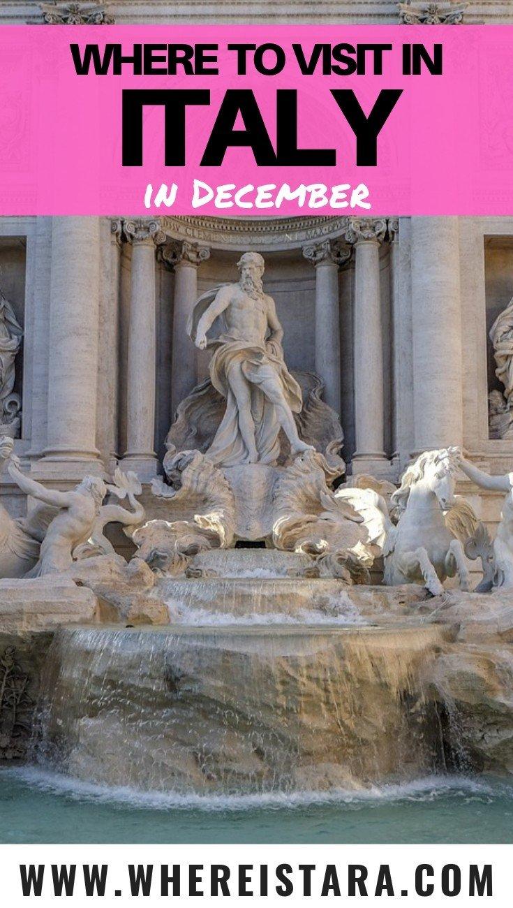 Italy in December pin