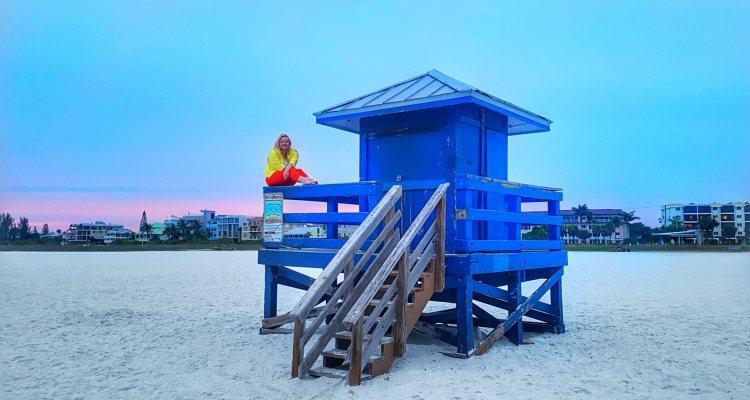 Sarasota county siesta beach sunset where is tara