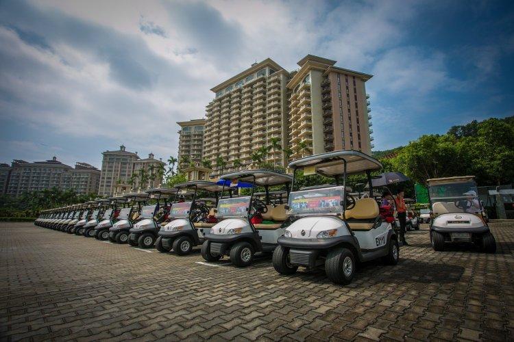 Rent a golf cart in Panama City Beach