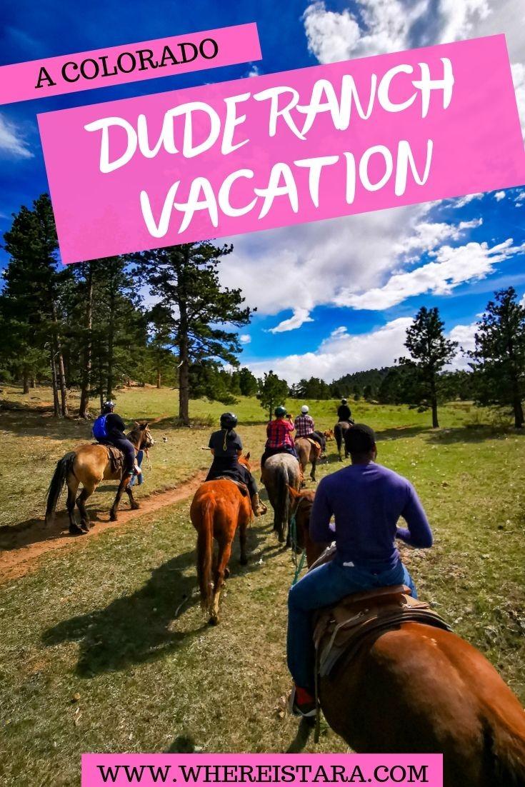 Sundance Trail Dude Ranch Colorado horse riding PIN