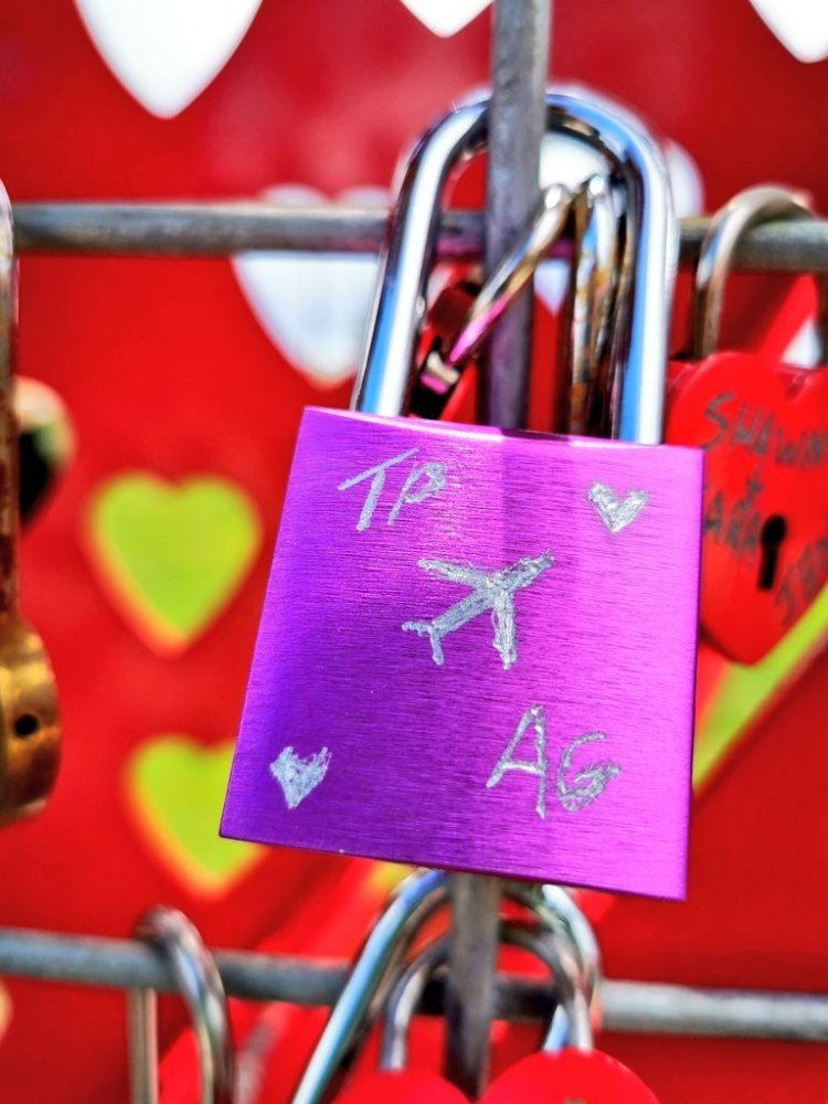 love locks things to do at Loveland Colorado