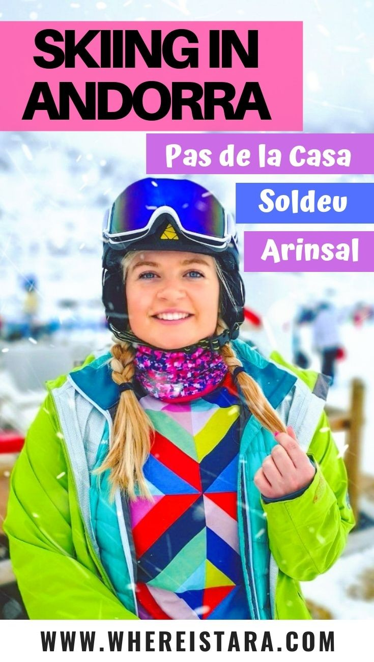 pinnable image for skiing in Andorra