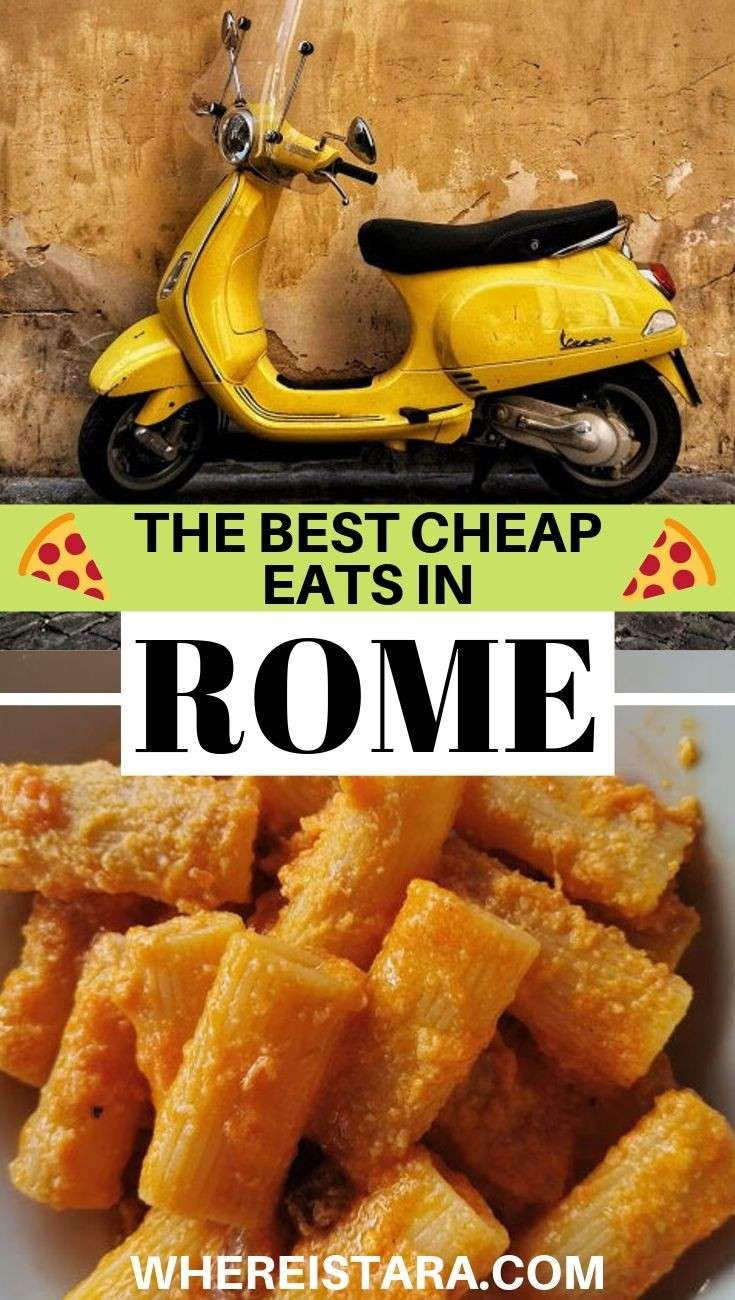 budget friendly places to eat in Rome