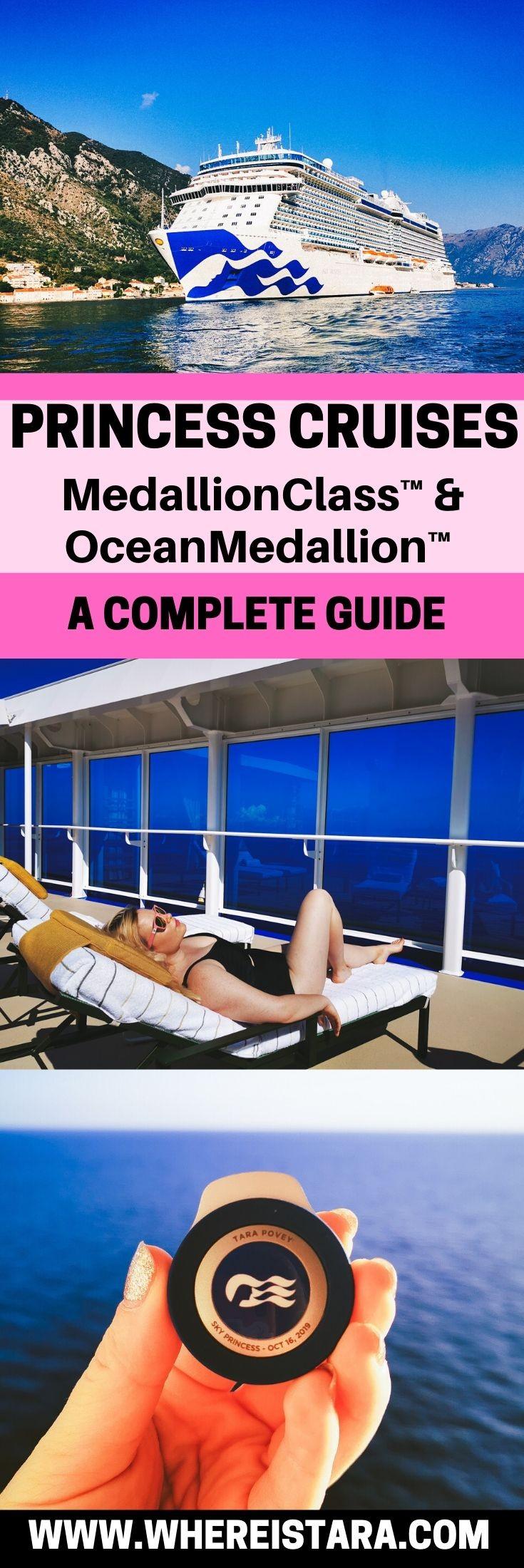 medallionclass sky princess oceanmedallion princess cruises pin