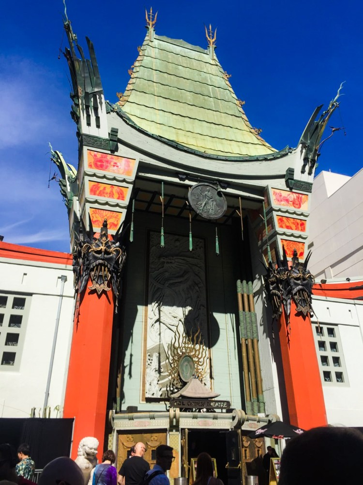 TLC Chinese Theatre by Dylan Walsh 5 days in LA Los Angeles itinerary Tara Povey