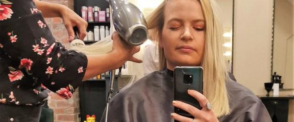 David Marshall Salon box dye to salon blonde hair