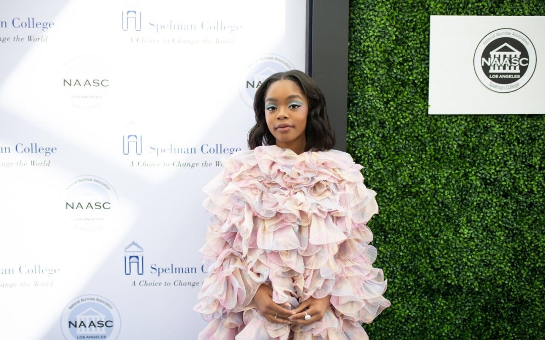 Black-ish Star Marsai Martin and TV Journalist Tanika Ray Honored by HBCU Spelman College's  Alumnae Association in Los Angeles
