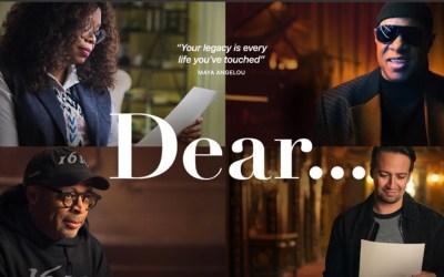 'Dear…' Trailer: Apple TV+ Docuseries Featuring Oprah Winfrey, Spike Lee, Stevie Wonder, Yara Shahidi, and More