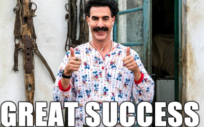 """AMAZON PRIME VIDEO ENJOYS """"GREAT SUCCESS"""" WITH BORAT SUBSEQUENT MOVIEFILM OPENING WEEKEND"""