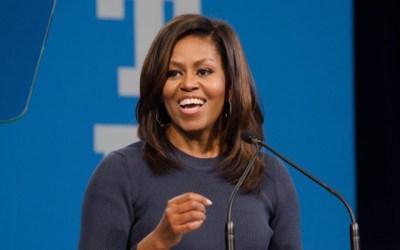 Michelle Obama congratulates Joe Biden and Kamala Harris but warns of the hard work ahead