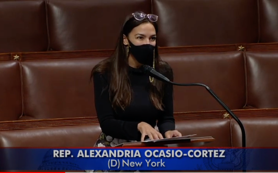 Rep. Alexandria Ocasio-Cortez Honors the Centennial of the Jewish Center of Jackson Heights in a Floor Speech