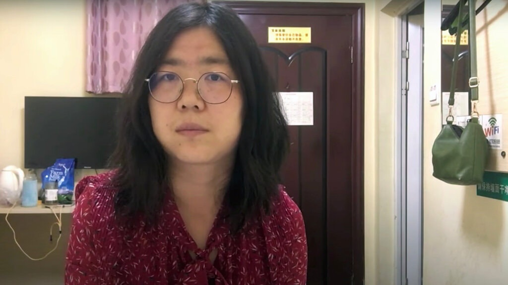 Chinese Citizen Journalist Zhang Zhan Jailed For Reporting On Early COVID-19 Outbreak In Wuhan