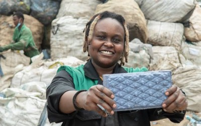 Nzambi Matee: Kenyan Entrepreneur Turns Recycled Plastic Into Bricks