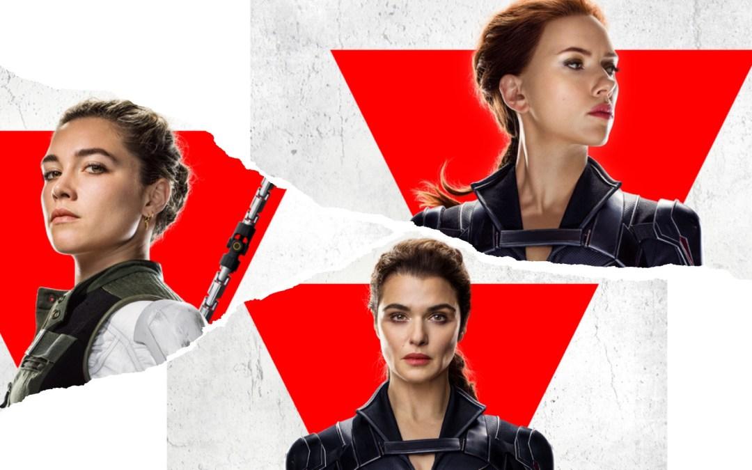"Marvel Studios' Reveal New ""Black Widow"" Character Posters"