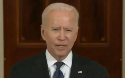 Joe Biden addresses recent violence following reported Israel-Hamas cease-fire