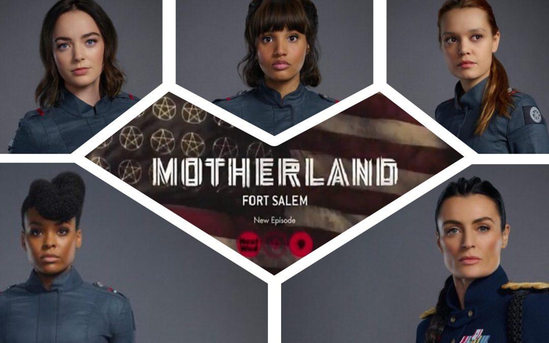 'MOTHERLAND: FORT SALEM' SEASON 2 CAST INTERVIEWS Ashley Nicole Williams, Jessica Sutton, Lyne Renee, Demetria McKinney and Amalia Holm