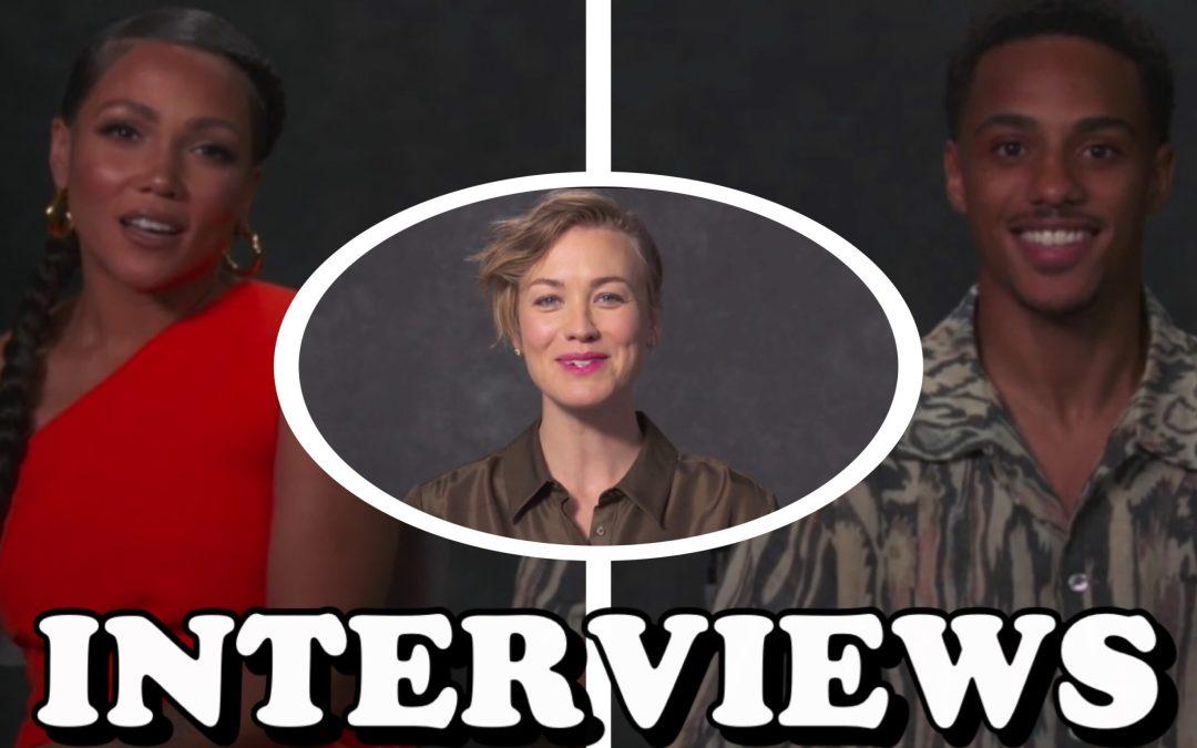 'The Tomorrow War' Cast Interviews: Keith Powers, Yvonne Strahovski, and Jasmine Matthews Talk Aliens