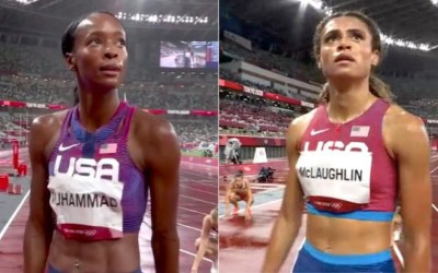 Sydney McLaughlin and Dalilah Muhammad Will Battle For The Gold Medal In The Women's 400M Hurdles Final
