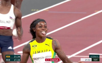 Elaine Thompson-Herah Successfully Defends Her 200m Olympic Title!